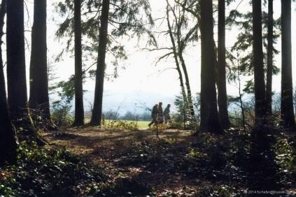 Wanderer, Peter & Paul in St. Gallen
