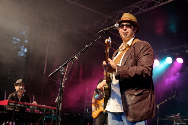 Blues-Rock Openair Bühler, Marc Stone & Band (Fuji X100T)