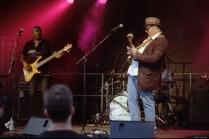 Blues-Rock Openair Bühler, Marc Stone & Band (Canon A-1)
