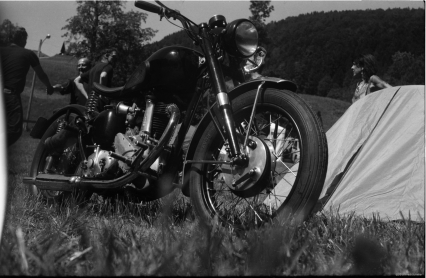 44th International British Biker Meeting. Zeiss Super Ikonta 531-2