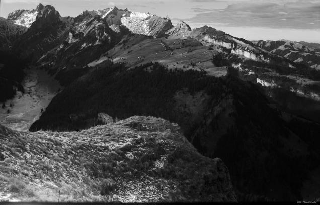 Alpstein mit Säntis
